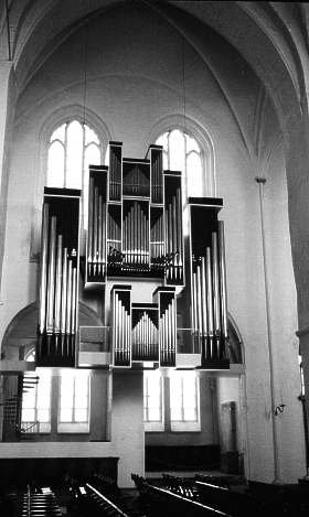 The new Marcussen-Organ