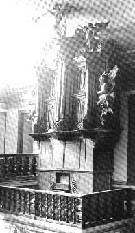 The organ in Mariana before restoration